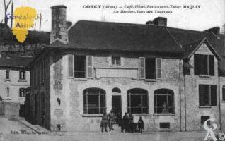 Café - Hôtel - Restaurant - Tabac MAQUIN - Au Rendez-Vous des Touristes - Contributeur : Guy Gilkin