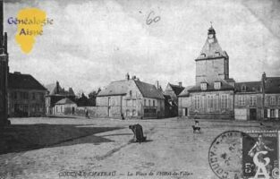la Place de l'Hôtel de Ville - Contributeur : Guy Gilkin