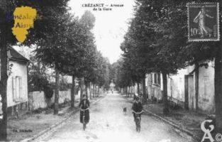 Avenue de la Gare - Contributeur : Guy Gilkin