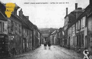 Avant la Guerre - Rue de Laon en 1914 - Contributeur : Guy Gilkin