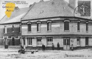 Place de la Mairie - Bureau de Tabac - Contributeur : Guy Gilkin