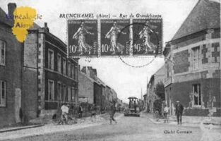 Rue du Grandchamps - Contributeur : Guy Gilkin