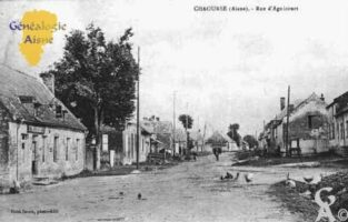 Rue d'Agnicourt - Contributeur : Guy Gilkin