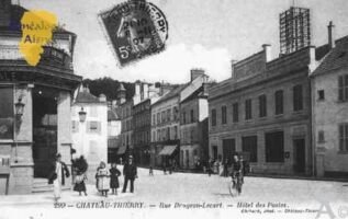 Rue Drugeon-Lecart - Hôtel des Postes - Contributeur : Guy Gilkin