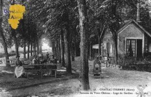 Terrasse du Vieux Château  -  Loge du Gardien  -  La Buvette - Contributeur : Guy Gilkin