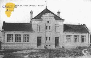 La Mairie en 1925 - Contributeur : Guy Gilkin