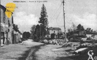 Avenue de la Gare en 1921 - Contributeur : Guy Gilkin