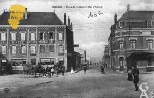 Place de la Gare et rue d'Alsace - Contributeur : Guy Gilkin