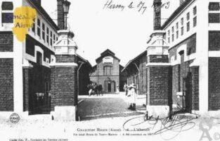L'Abattoir situé Route de Neuve-Maison a été construit en 1805. - Contributeur : Guy Gilkin