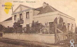 La mairie vers 1928-1930 - Contributeur : T.Martin