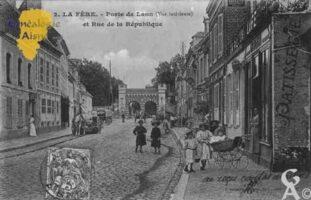 Porte de Laon et rue de la République - Contributeur : Guy Gilkin