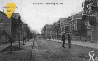 Faubourg de Laon - Contributeur : Guy Gilkin
