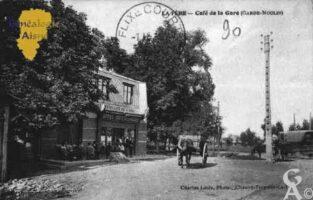 Café de la Gare - (Garde Moulin) - Contributeur : Guy Gilkin