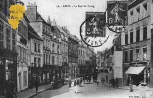 La rue du Bourg - Contributeur : Guy Gilkin