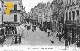 Rue du Bourg - Contributeur : Guy Gilkin