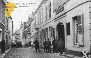 Banque de France - Rue Saint-Cyr - Contributeur : Guy Gilkin