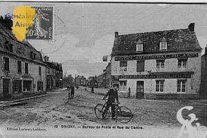 bureau de poste et rue du centre - Contributeur : Jean-Claude Menu