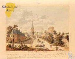 L'Entrée de la Ville - Gravure de Tavernier - Contributeur : Bibliothèque Nationale de France (BNF)