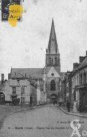 Pignon Sud du Transept de l'Église - Contributeur : Guy Gilkin