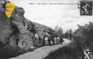 Les Creuttes - Anciennes habitations de l'époque Gauloise. - Contributeur : Guy Gilkin