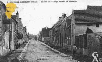 Sortie du village venant de Soissons - Contributeur : Guy Gilkin