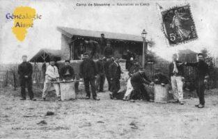 Camp de Sissonne - Récréation au Camp. - Contributeur : Guy Gilkin