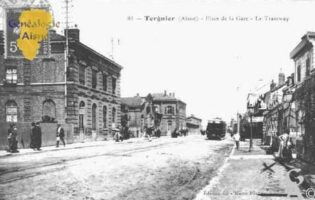 Place de la Gare - Le Tramway - - Contributeur : Guy Gilkin