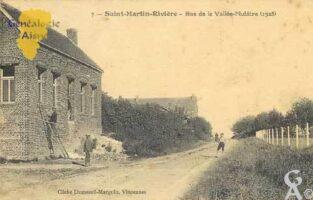 Rue de la Vallée - Mulâtre en 1923 - Contributeur : Serge Hiet