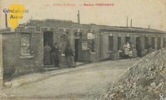 La maison Ponchard - Contributeur : Mme Bouillon