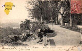 Terrasse du vieux château - Contributeur : G.Langlois