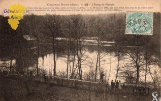L'étang de Blangis - Contributeur : G.Langlois