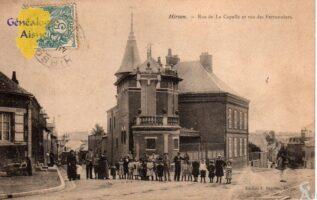 Rue de La Capelle et rue des Ferronniers - Contributeur : G.Langlois