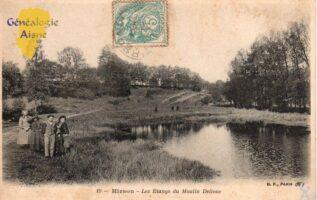 Les étangs du moulin Delloue - Contributeur : G.Langlois