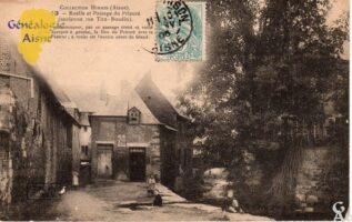 Ruelle et passage du Prieuré - Contributeur : G.Langlois