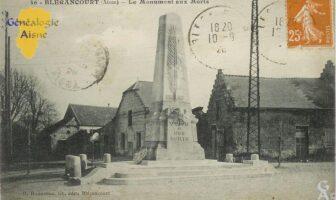 Le monument aux morts - Contributeur : Mme Bouillon