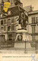Statue de Quentin de La Tour - Contributeur : Christiane Brenu