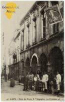 Hôtel des postes, rue Châtelaine - Contributeur : F.Gérard - C.G.P.T.T