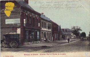 Grande rue et rue de la gare - Contributeur : T.Martin