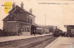 La gare - Contributeur : A.Demolder