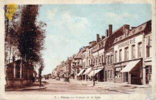 Av. de la gare - Contributeur : D. Cadour