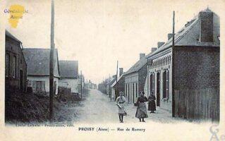 Rue de Romery - Contributeur : D.Cadour
