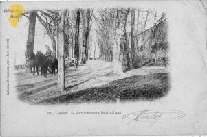 Promenade Saint-just - Contributeur : F. Rousseau
