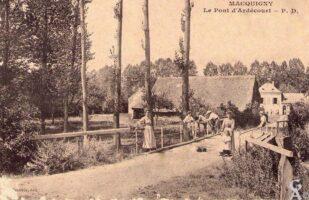 Le pont d'Ardécourt - Contributeur : A. DEmolder