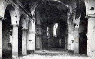 Intérieur de l'église avant 1918   - Contributeur : T.Martin