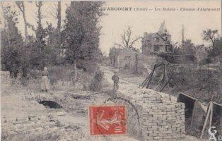 Les ruines - Chemin d'Alaincourt - Contributeur : T.Martin
