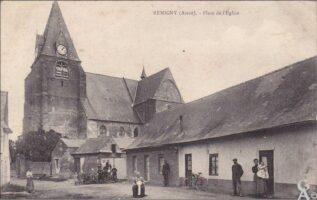 Place de l'église  - Contributeur : T.Martin