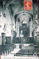 Interieur de l'église  - Contributeur : T.Martin