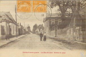 Rue St Jean avant-guerre - Contributeur : T.Martin