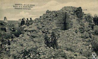 Ruines de la vieille église - Contributeur : T.Martin