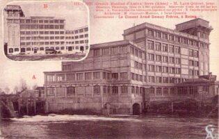 Grands moulins après 1920  - Contributeur : A. Demolder